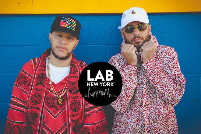 Curta Amine Edge & DANCE Live No The Lab NYC