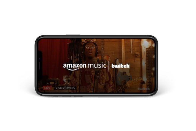 Amazon Music e Twitch anunciam parceria para combinar streaming ao vivo e música on demand