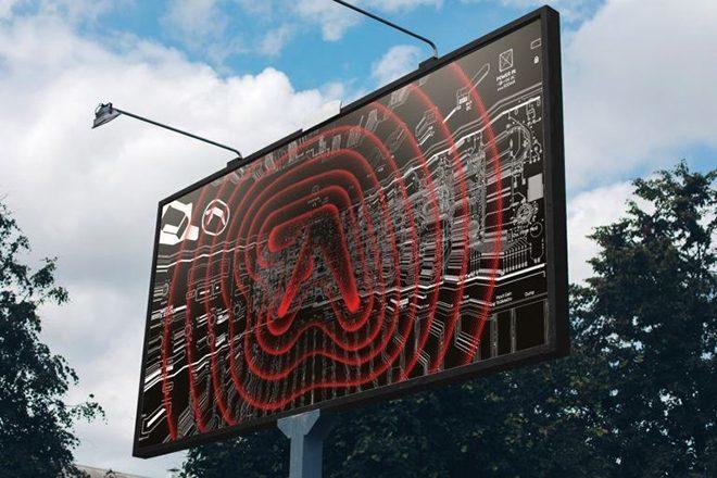 Logos de Aphex Twin começam a aparecer em algumas cidades pelo mundo