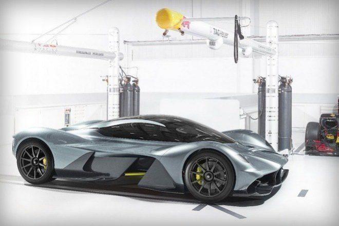 Aston Martin & Red Bull Apresentam Hypercar AM-RB 001
