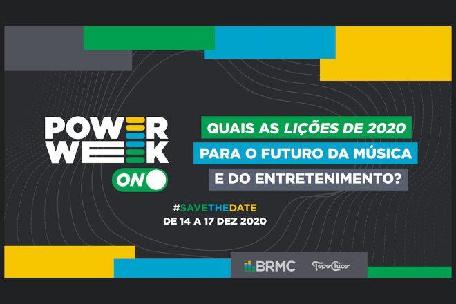 BRMC anuncia a POWER WEEK, semana de encerramento do programa ON com personalidades da indústria criativa