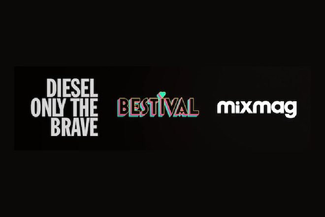 Diesel & Mixmag no 'Only The Brave Stage' do Bestival 2015