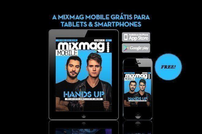 Baixe a nova edição da Mixmag Mobile grátis para IOS & Android