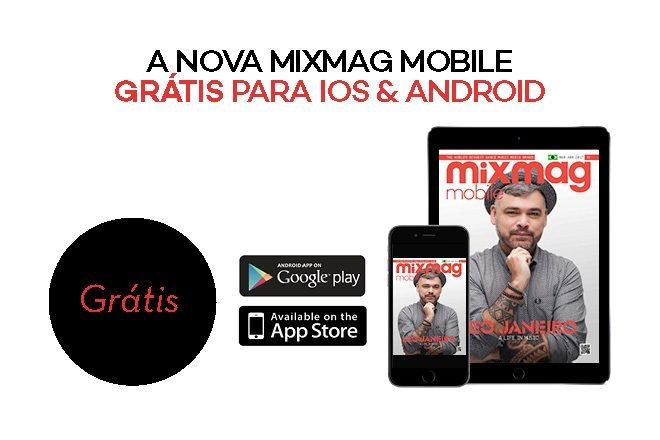 Leo Janeiro na capa da nova edição da Mixmag Mobile