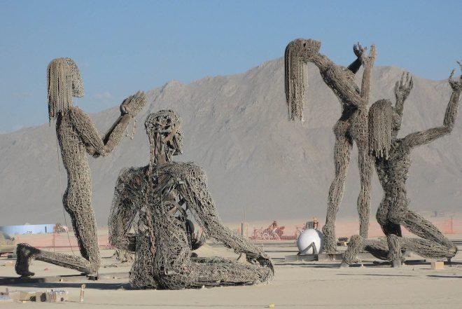 Burning Man: veja 10 fotos impressionantes
