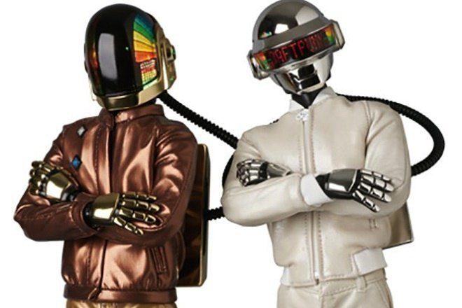 Os Bonecos Em Miniatura Oficiais Do Daft Punk Vem Aí