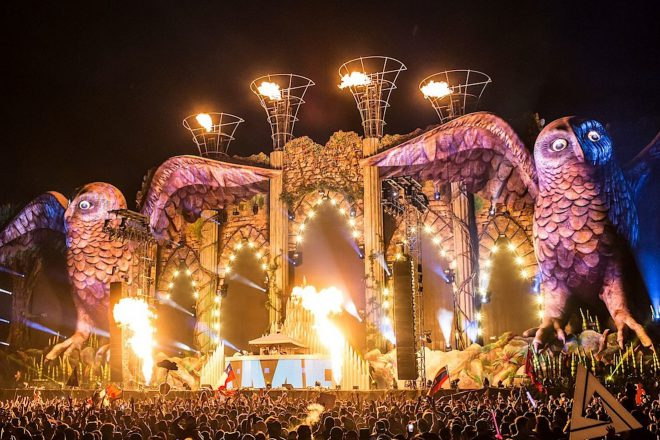 Kinetic Cathedral: o mega stage do EDC