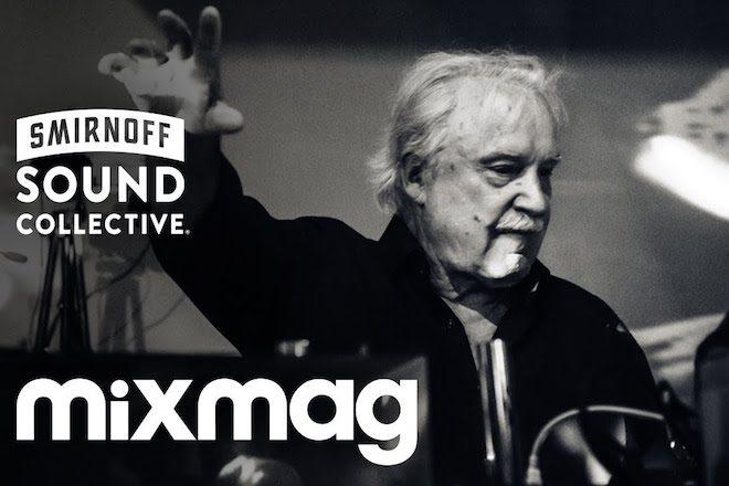 Assista Giorgio Moroder ao vivo com Mixmag