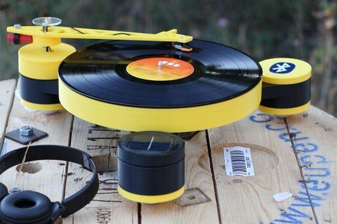 Conheça o primeiro toca-discos feito com impressão 3D do mundo