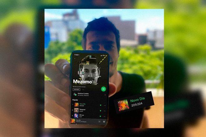 Como chegar a 200 mil plays no Spotify? Mezomo revela dicas valiosas