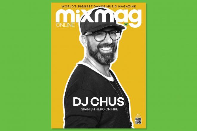 DJ Chus é destaque de capa da nova edição da revista online da Mixmag no Brasil