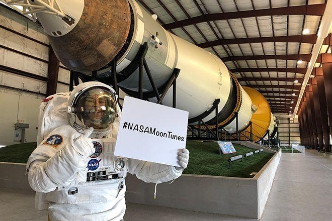 A NASA quer sua colaboração na playlist da próxima viagem à lua
