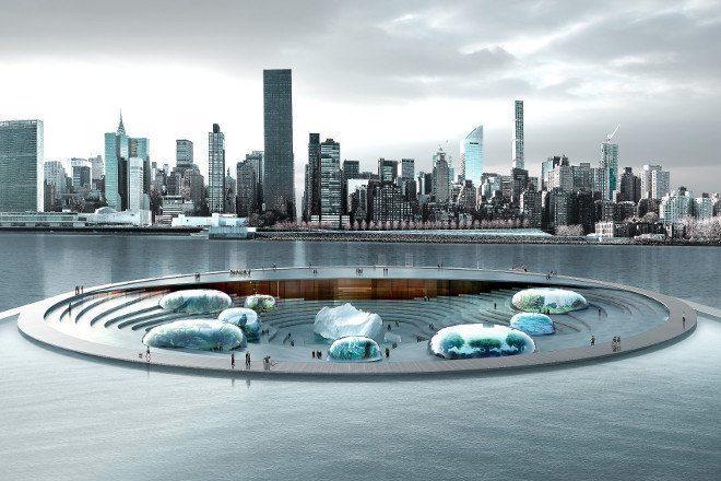 Novo Aquário em NY Vai Interagir Com As Águas Do East River