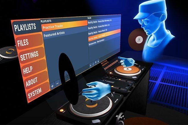 Oculus Rift lança novo VR DJ app, Reality Decks