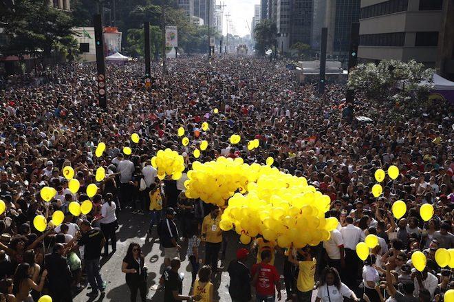 Daniela Mercury agita 3 milhões de pessoas na Parada LGBT