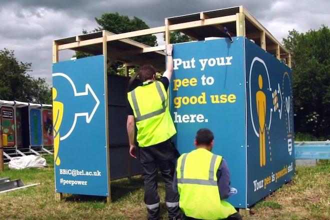 Esse toilet vai transformar xixi em eletricidade no Festival Glastonbury