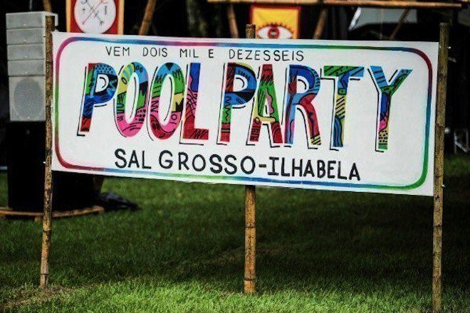 Sal Grosso promove segunda Pool Party em Ilhabela