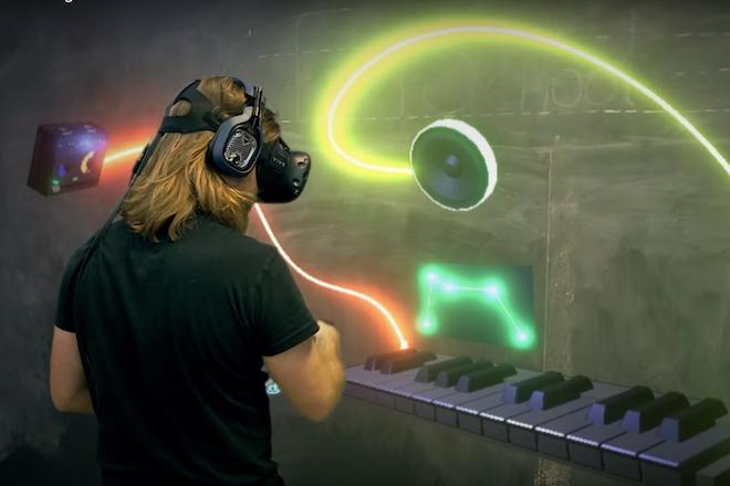 Produzindo Música Em Full Estúdio Em Realidade Virtual