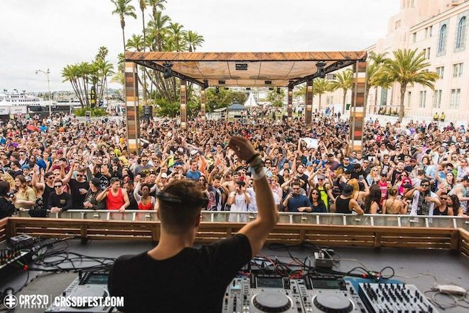 Assista Skream ao vivo no festival CRSSD