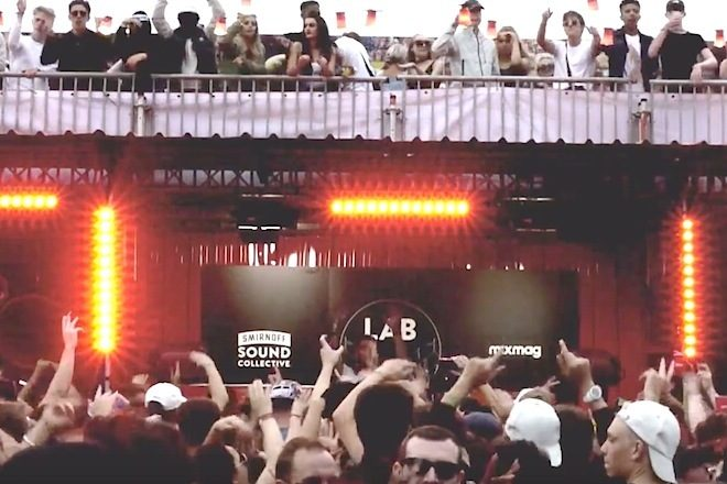 A vibe do The Lab Smirnoff House nos festivais europeus