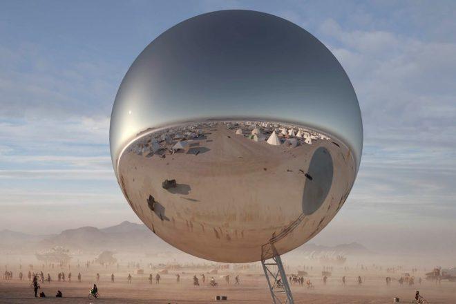 Burning Man 2018 terá gigantesco 'globo de discoteca' de 30m de altura
