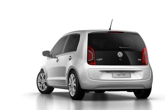 Volkswagen UP! TSI chega ao mercado brasileiro