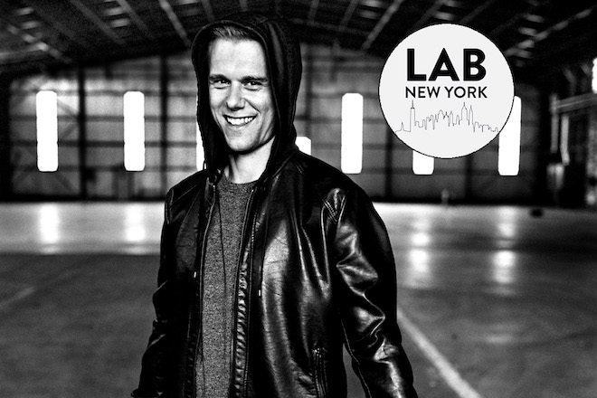 Assista Armin Van Buuren ao vivo no Mixmag Lab NYC