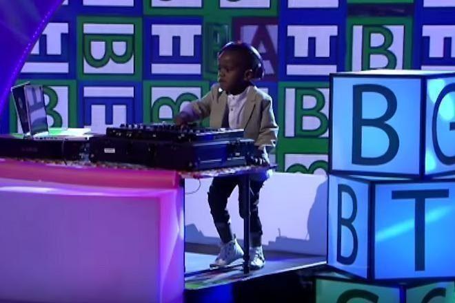 DJ Arch Jr de 3 anos de idade vence o South Africa's Got Talent