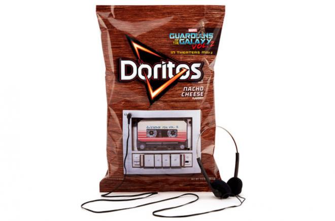 Essa embalagem de Doritos toca a trilha do novo filme da Marvel na íntegra
