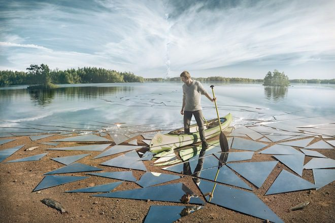 Veja Como Foi Produzida A Incrível Foto Do Lago De Espelhos Quebrados