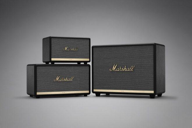 Marshall apresenta sua nova linha de caixas de som Bluetooth
