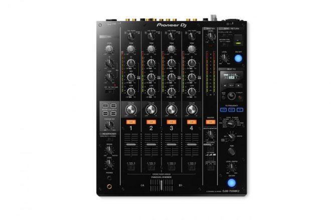 Esse é o novo DJM-750MK2 da Pioneer DJ