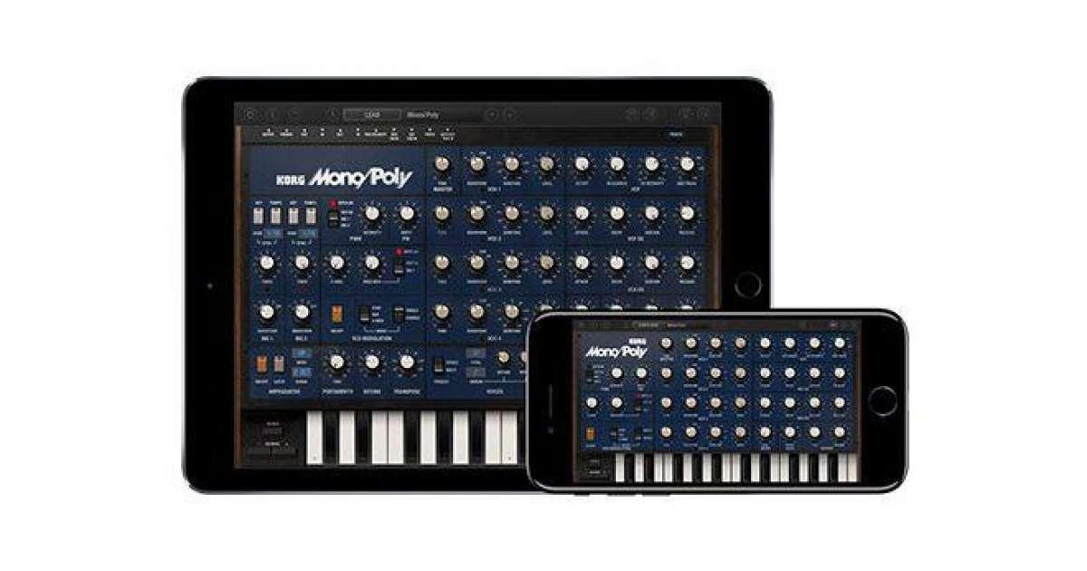 3dc3d66af35 Korg Mono Poly para iOS já está disponível - Tech News - Mixmag Brasil