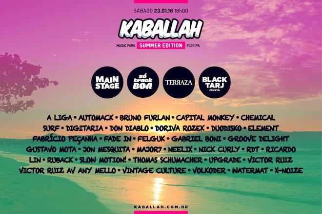 Kaballah Summer Edition promove edição em Florianópolis ...