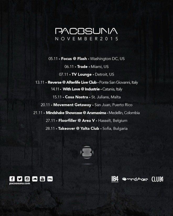 Paco Osuna Tour